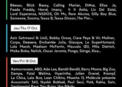 28 artistes s'ajoutent à la programmation